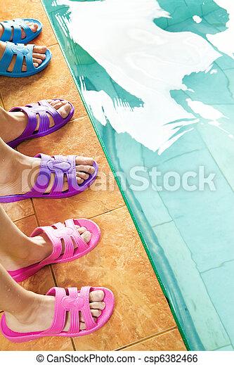 Feet in flipflops - csp6382466