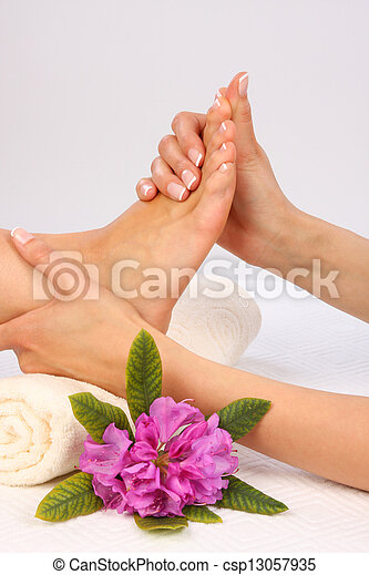 Feet Massage - csp13057935