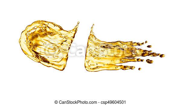 fehér, loccsanás, háttér, olaj - csp49604501
