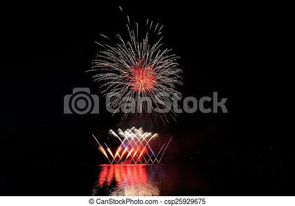 Feiern - csp25929675