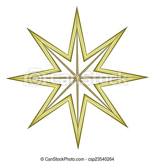 feier, stern, element - csp23540264
