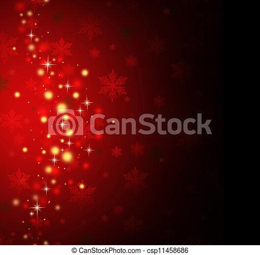 feiertag, roter hintergrund - csp11458686