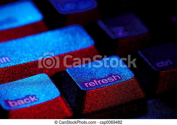 felfrissít, kulcs - csp0069482