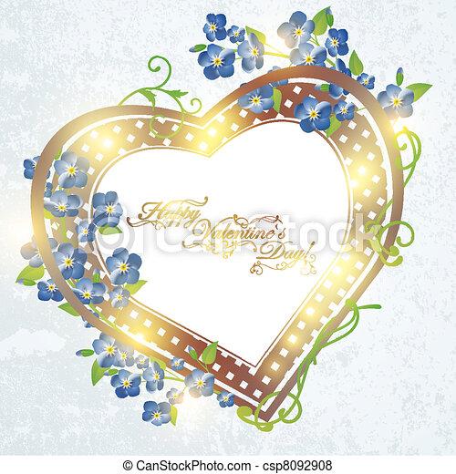 felice, fidanzato, day! - csp8092908