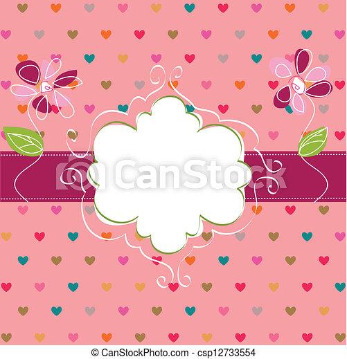 felice, giorno, valentine - csp12733554