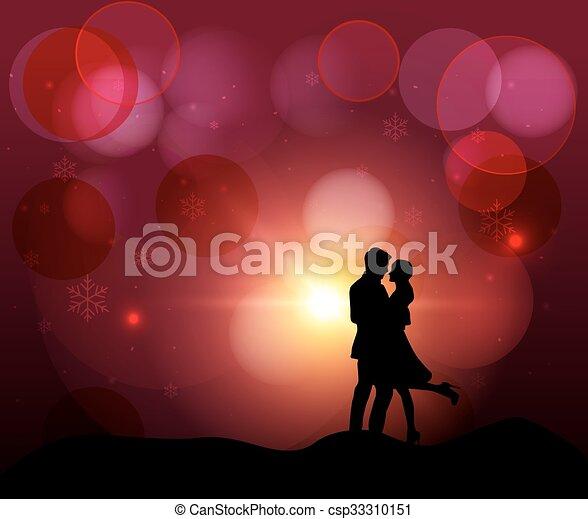 felice, giorno, valentine - csp33310151