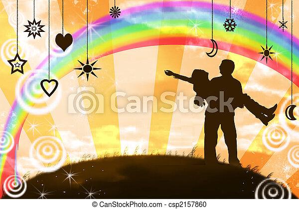 felicidade - csp2157860