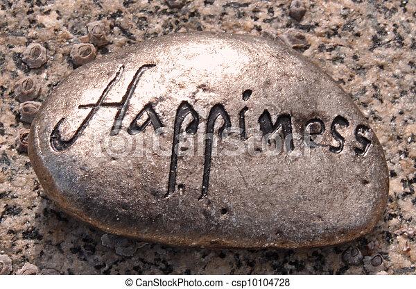 felicidade, rocha - csp10104728