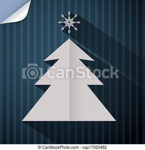 feliz, abstratos, vetorial, retro, fundo, natal - csp17023482