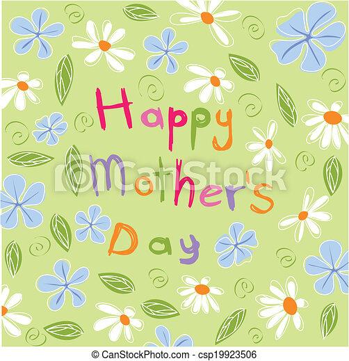 Feliz día de la madre - csp19923506