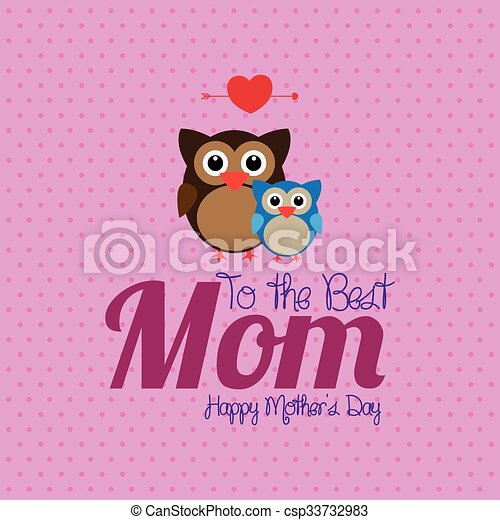 Feliz Dia Madre Coloreado Madre Texto Ilustracion Day