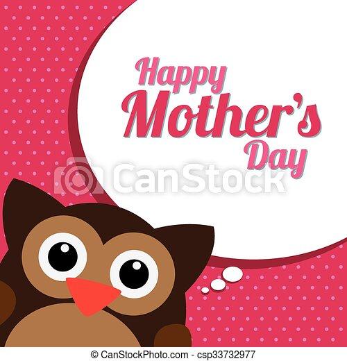 Feliz Dia Madre Coloreado Madre Texto Ilustracion
