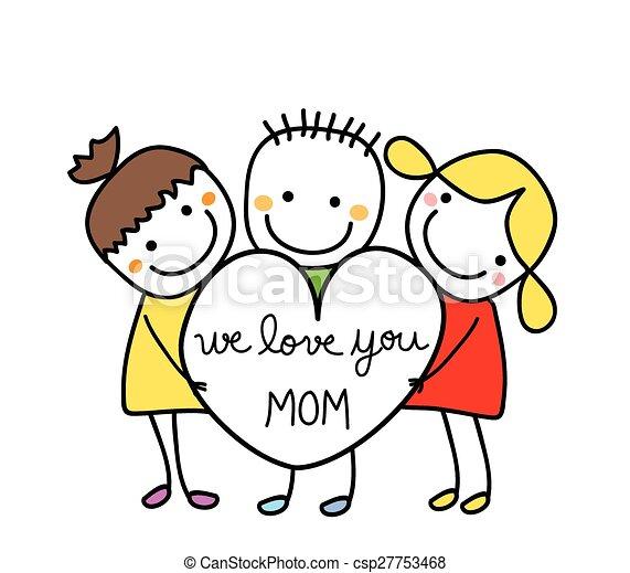 Feliz día de las madres - csp27753468