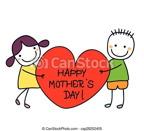 Feliz día de las madres - csp28252405
