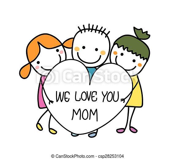 Feliz día de las madres - csp28253104