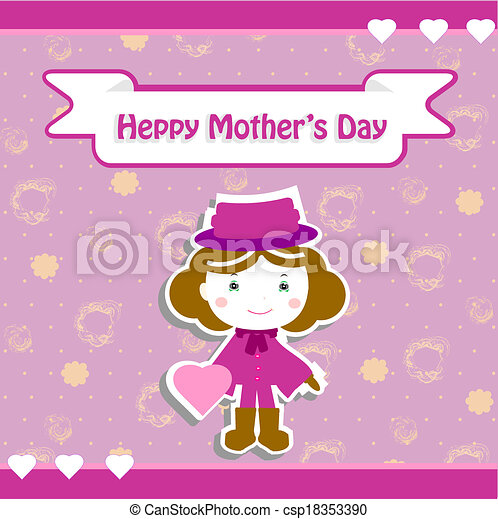 Feliz día de las madres - csp18353390