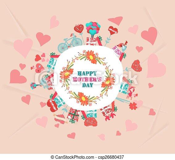 Feliz día de las madres - csp26680437
