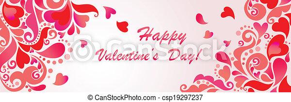 ¡Feliz día de San Valentín! - csp19297237