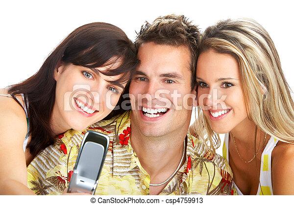 Gente feliz - csp4759913