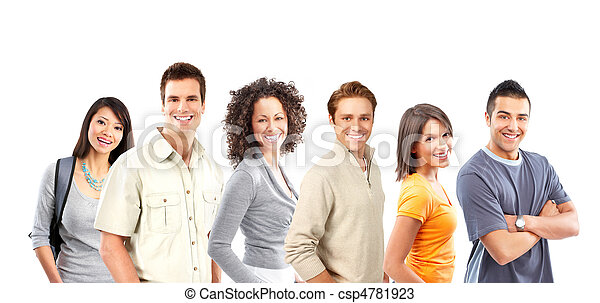 Gente feliz - csp4781923