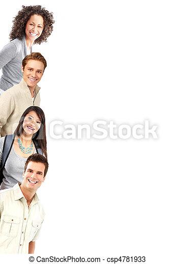 Gente feliz - csp4781933