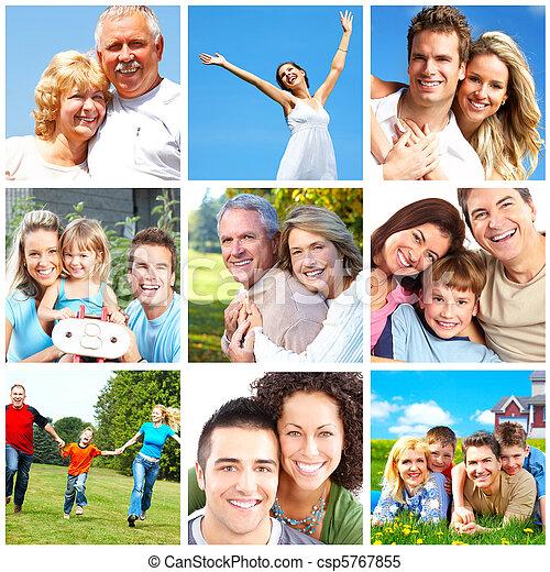 Gente feliz - csp5767855