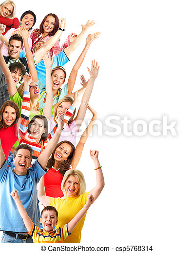 Gente feliz - csp5768314
