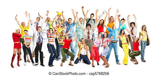 Gente feliz - csp5768256