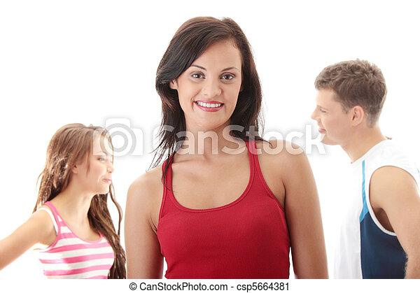 Gente feliz - csp5664381