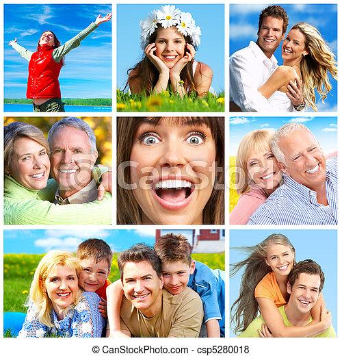 Gente feliz - csp5280018