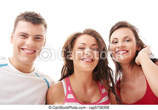 Gente feliz - csp5736358