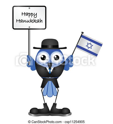 Feliz Hanukkah - csp11254905