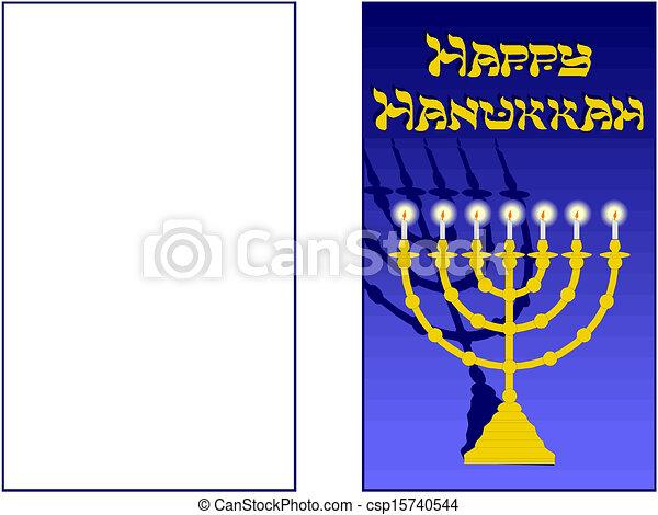 Feliz Hanukkah - csp15740544