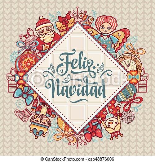 Decoraciones Navideñas Para Invitaciones Y Tarjetas De