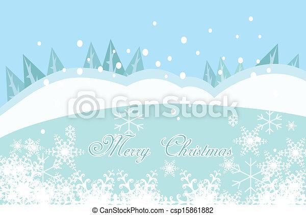 feliz natal, fundo - csp15861882