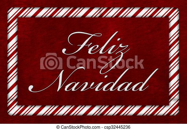 Feliz Navidad - csp32445236