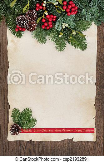 Feliz Navidad - csp21932891