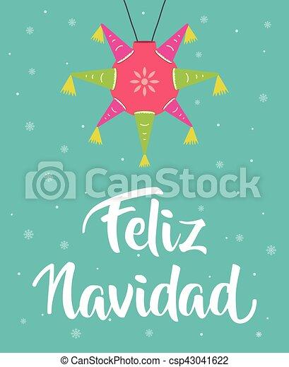 feliz navidad - csp43041622