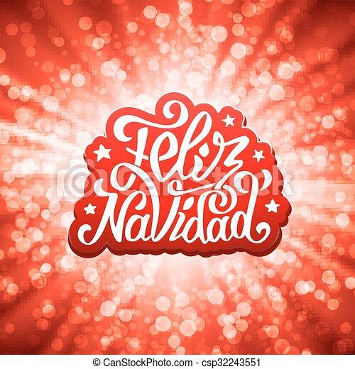 Feliz navidad lettering merry christmas greetings feliz navidad feliz navidad lettering merry christmas greetings csp32243551 m4hsunfo