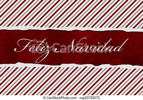 Feliz Navidad - csp23725073