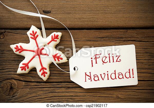 Feliz navidad spanish christmas greetings feliz navidad which is feliz navidad spanish christmas greetings csp21902117 m4hsunfo