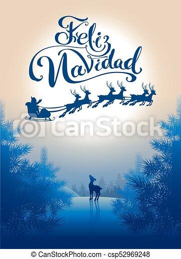 Merry Christmas In Spanish.Feliz Navidad Translation Spanish Merry Christmas