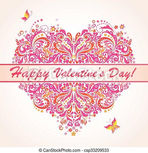 ¡Feliz día de San Valentín! - csp33209533