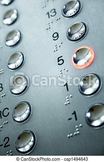 felvonó, keypad - csp1494643