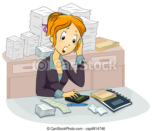 Female Accountant - csp4814746