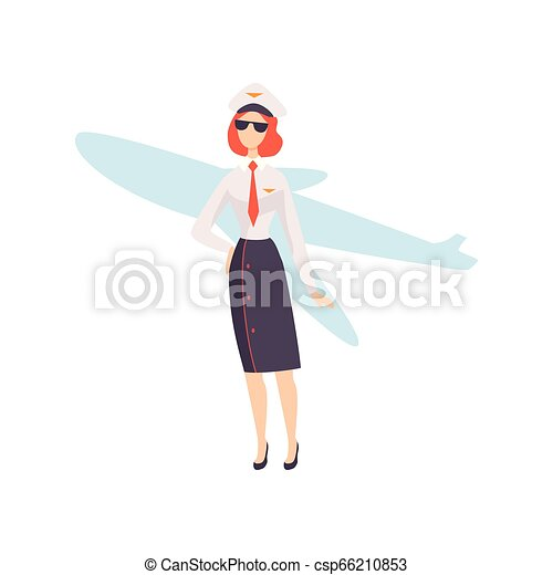 Young Caucasian Airline Pilot Holding The Model Of Airplane In.. Royalty  Free Cliparts, Vectors, And Stock Illustration. Image 83808235.