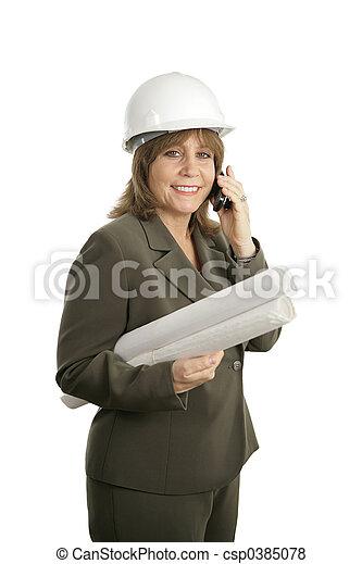 Female Architect 2 - csp0385078