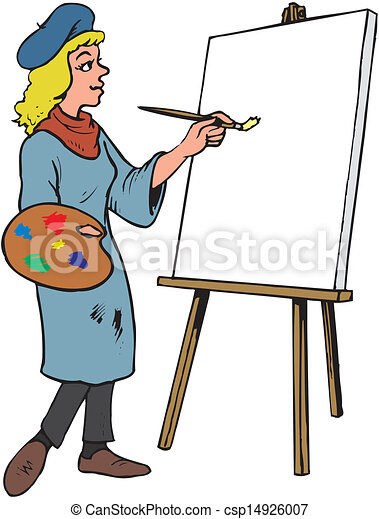 female artist vector clipart search illustration drawings and eps rh canstockphoto com artist clip art free artist clip art images