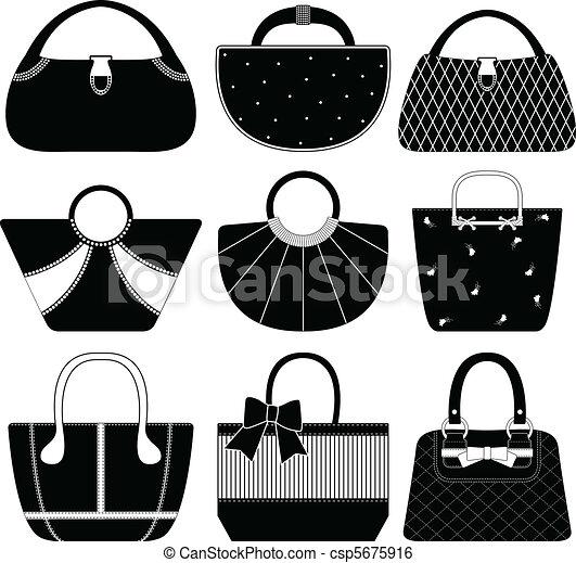 Female Bag Handbag Purse Woman - csp5675916