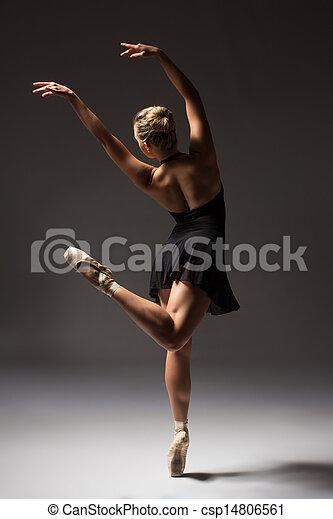 Female ballet dancer - csp14806561